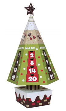 クリスマス用のアドベントカレンダー
