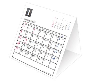 落ち着いたデザインのカレンダーが多いのがこちらの特徴