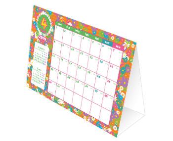 カジラボ・ペーパーの卓上カレンダー