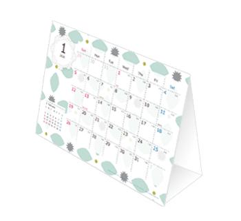 ハッピーカレンダーの卓上