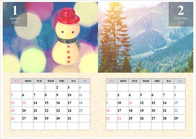 パワーポイントカレンダー4