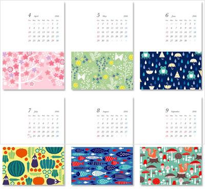 EPSONのサイトからも無料ダウンロードできるカレンダーを提供