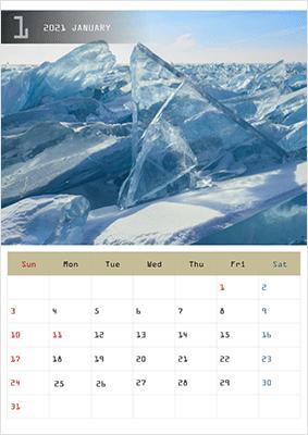 パワーポイントカレンダー2